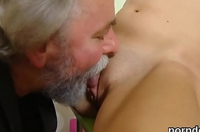 Ideal schoolgirl receives seduced and pounded away from the brush patriarch schoolteacher