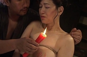 Honcho Japanese sweeping in hot wax S&m shtick
