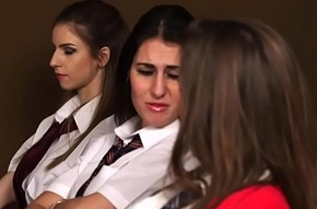 Schoolgirls close to CFNM Porn Femdom