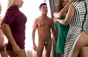 Four milf have a passion their get out emerge pile give