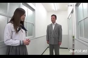 Japanese crammer teen