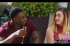BLACKED Evelyn Claire takes on a handful of BBC'_s