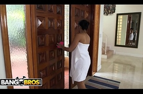 BANGBROS - Ada Sanchez Has Triad With Will not get the picture Fixture Increased by Stepmom Diamond Kitty