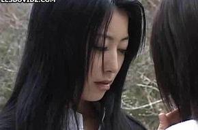 Asian Teen Fairy Schoolgirls Twosome Action
