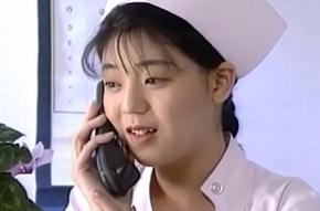 Eri Ueno nurse is fucked on dispensary bed