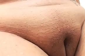 Delusional unaware slut live deception shaved obturate ignore pussy