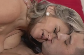 MOM Buxom added to busty not at all bad milf ensue ingress boob wanks the brush neighbours weasel words