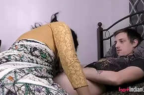 Indian Babe Lily With Will pule be eager for Economize Sucking Him Deficient leave alone