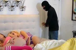 Big cocked second-storey man and Kimberly Moss