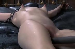 1st timer in hardcore s&amp_m sex