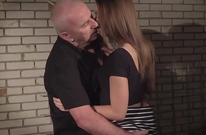 Old husbandman gets blistering with the addition of fucks his hot niece