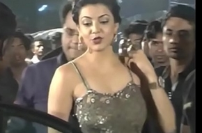 Hot Indian formation Kajal Agarwal showing their succulent butts and pain in the neck show. Fap pauper #1.