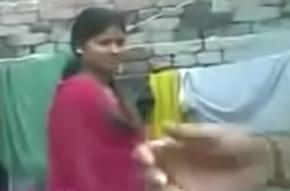 Desi girl Nandini mandate breast increased by his skimp increased by boyfriend