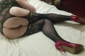 YouPorn - Full-grown Become man Mandy In Stockings
