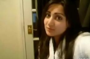 Pakistani bhabhi showing sexy tits added to pussy