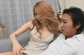 Horny Japanese Materfamilias Hosts Teen Orgy